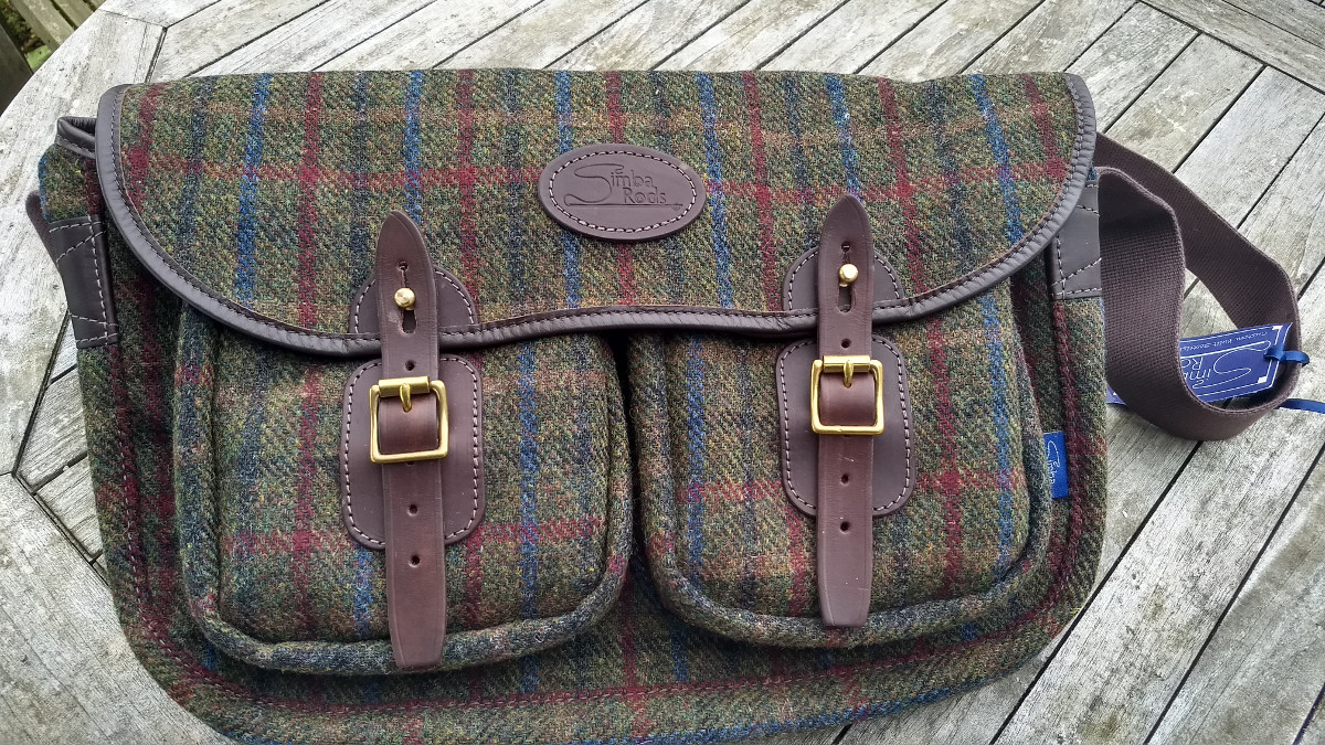Glenartney Harris Tweed satchel