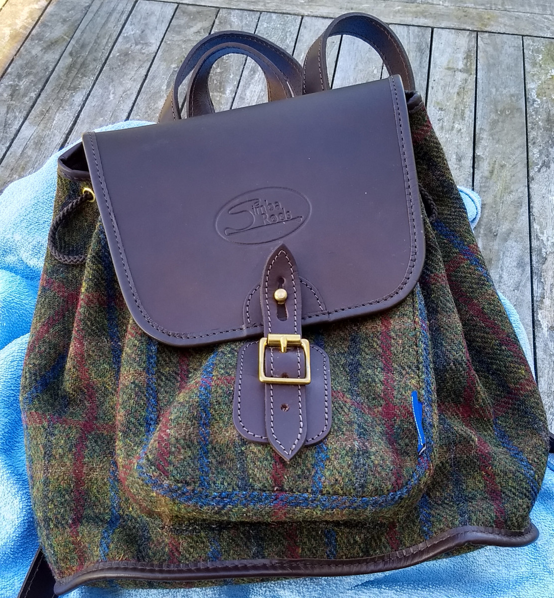 Highland Harris Tweed backpack