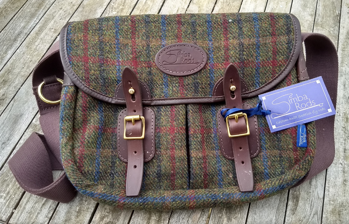 Strathearn 14″ Harris Tweed Bag