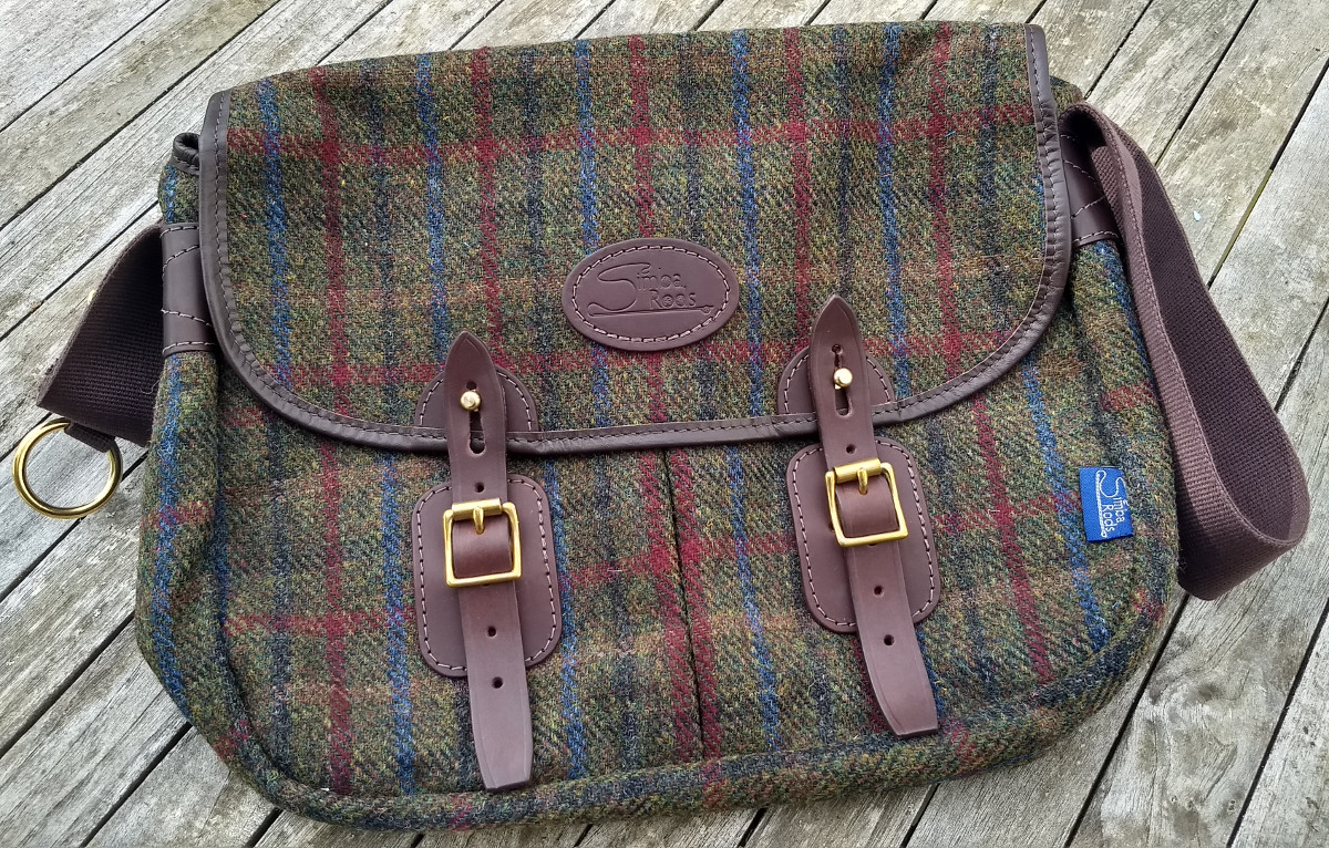 "Strathearn 16"" Harris Tweed bag"