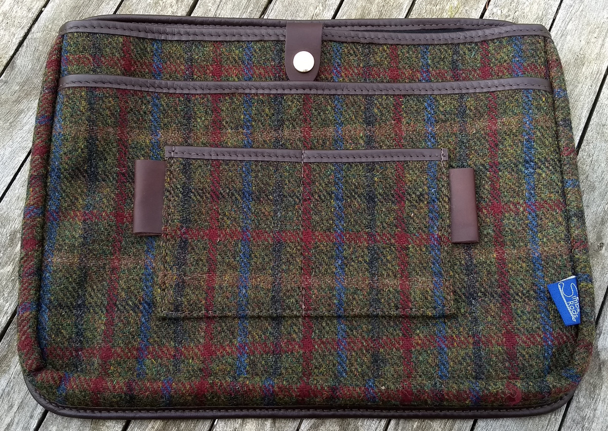 "Laptop insert for Strathearn 16"" Harris Tweed bag"