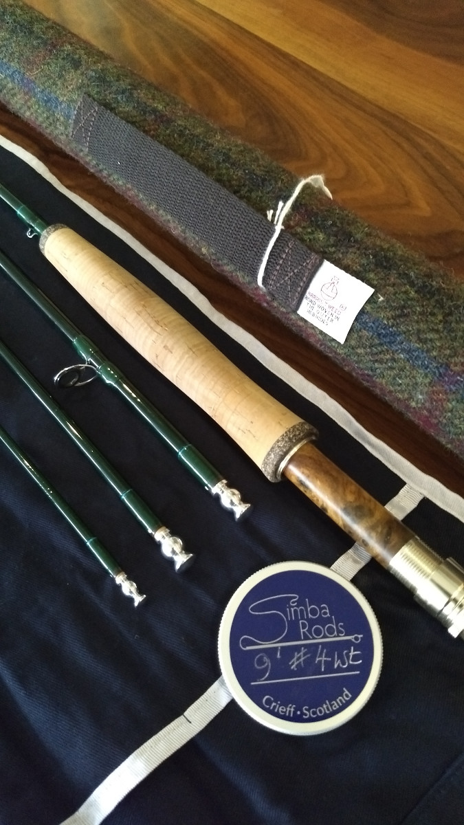 Special Offer – 9′ #4wt Four Piece Rod