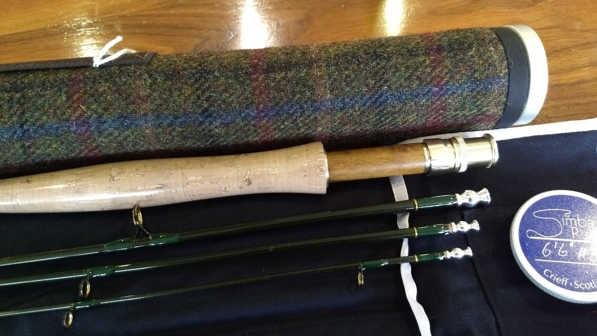 "Special offer - 6'6"" #3wt four piece Wee Stream Rod"